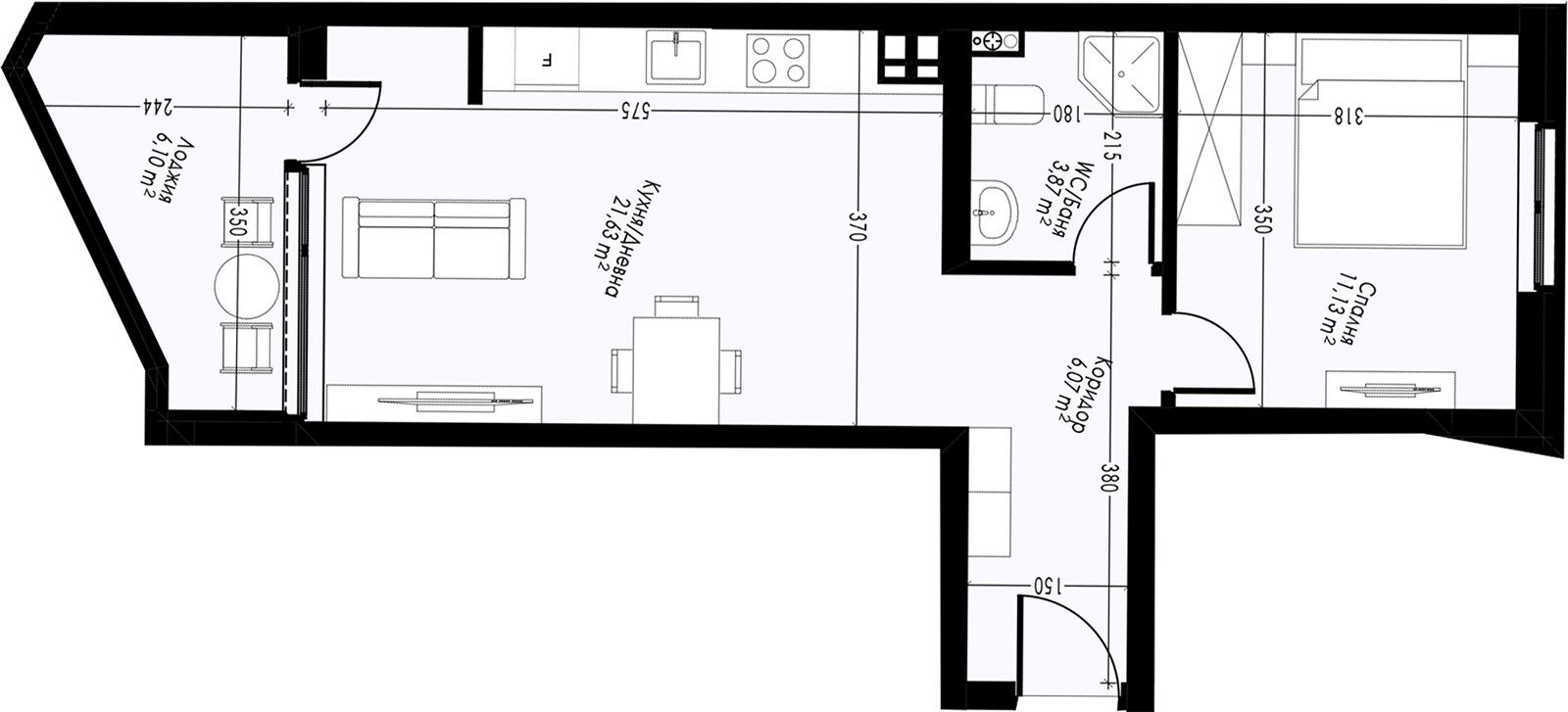 Офис (апартамент) 1