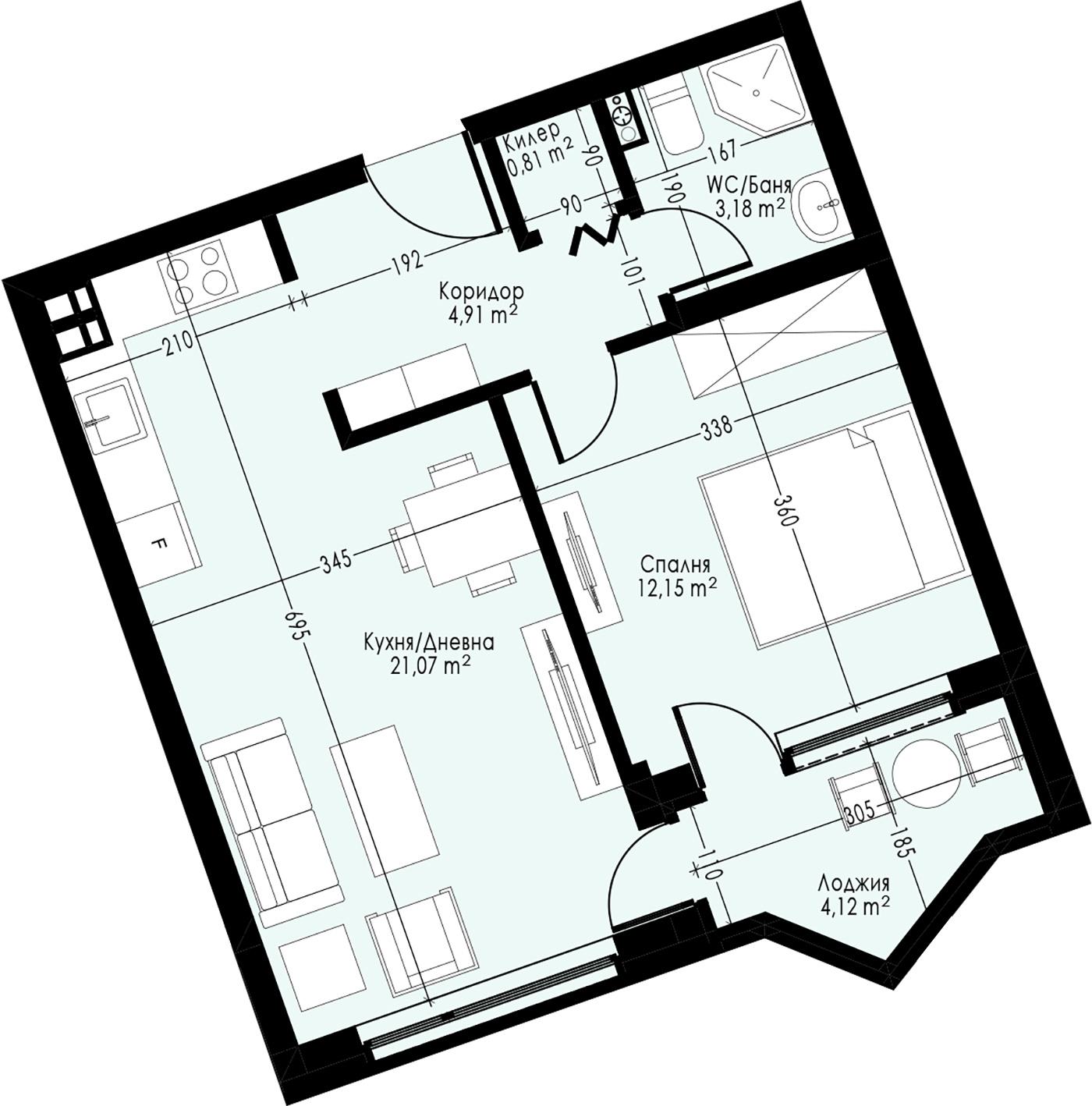 Офис (апартамент) 2