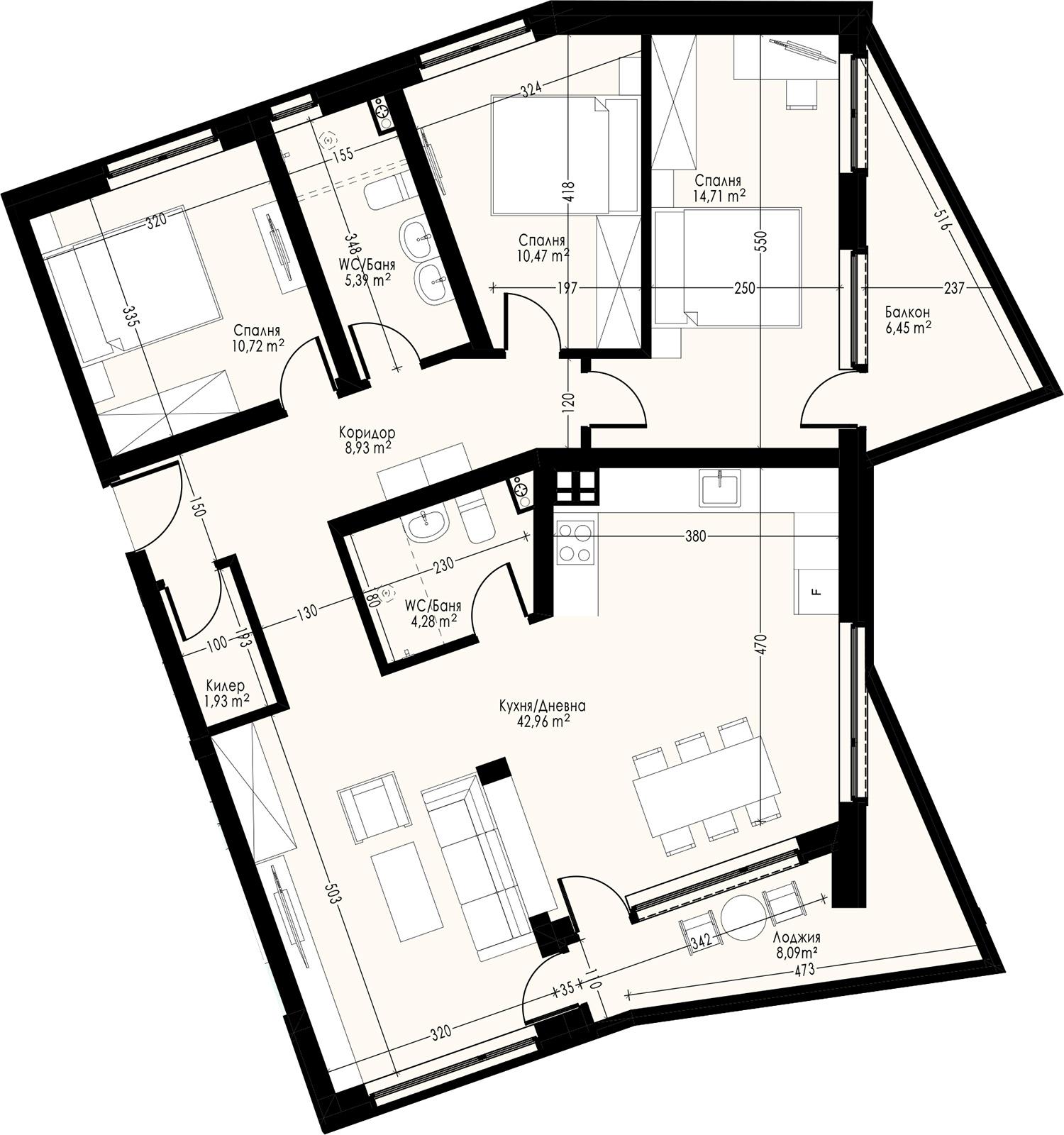 Офис (апартамент) 3