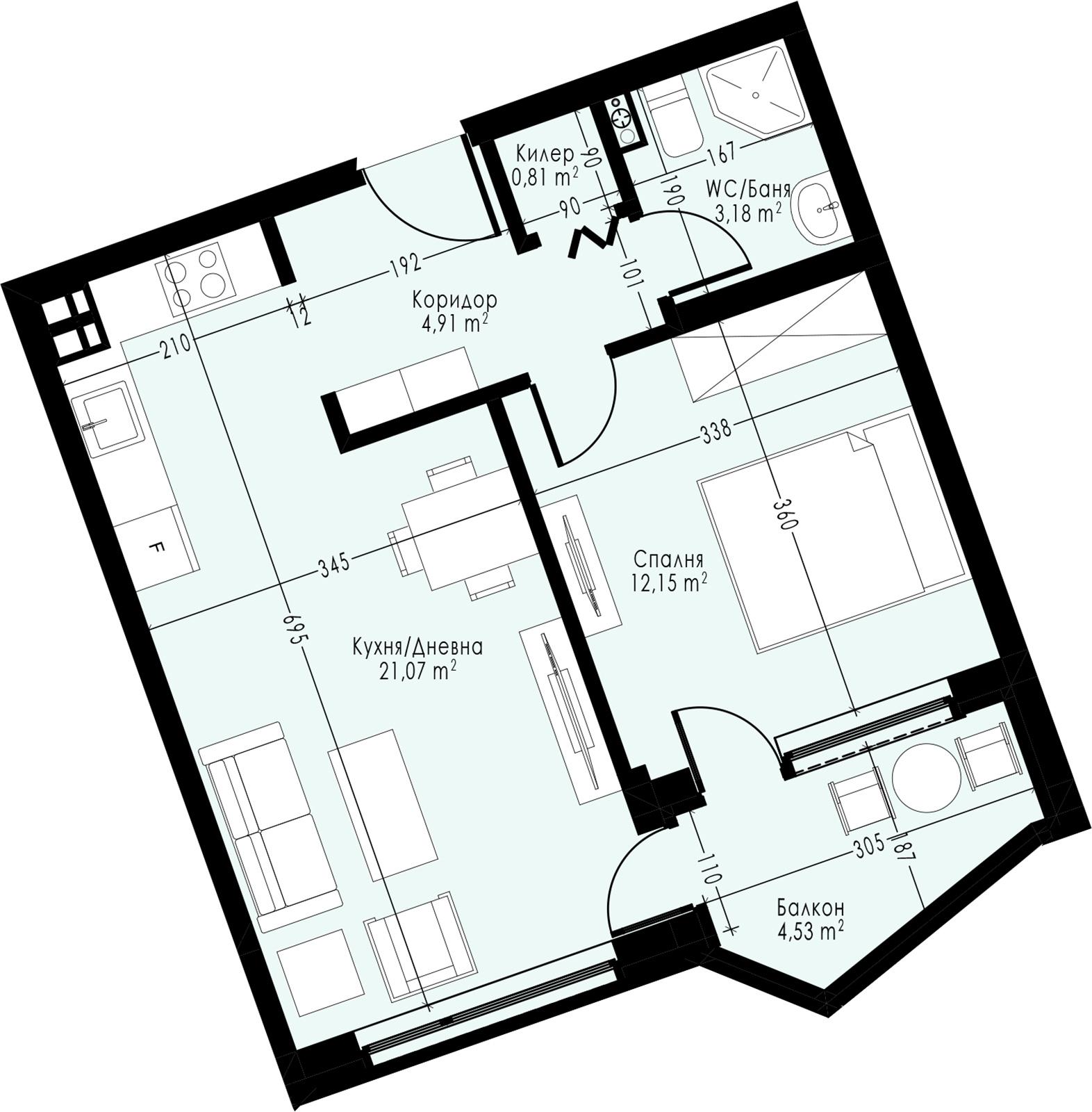 Апартамент 13