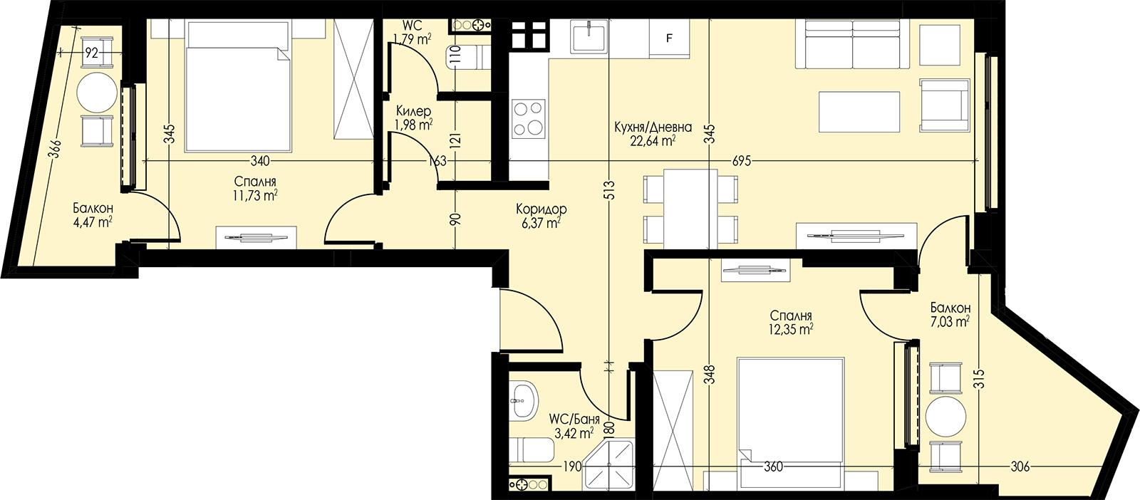 Апартамент 22