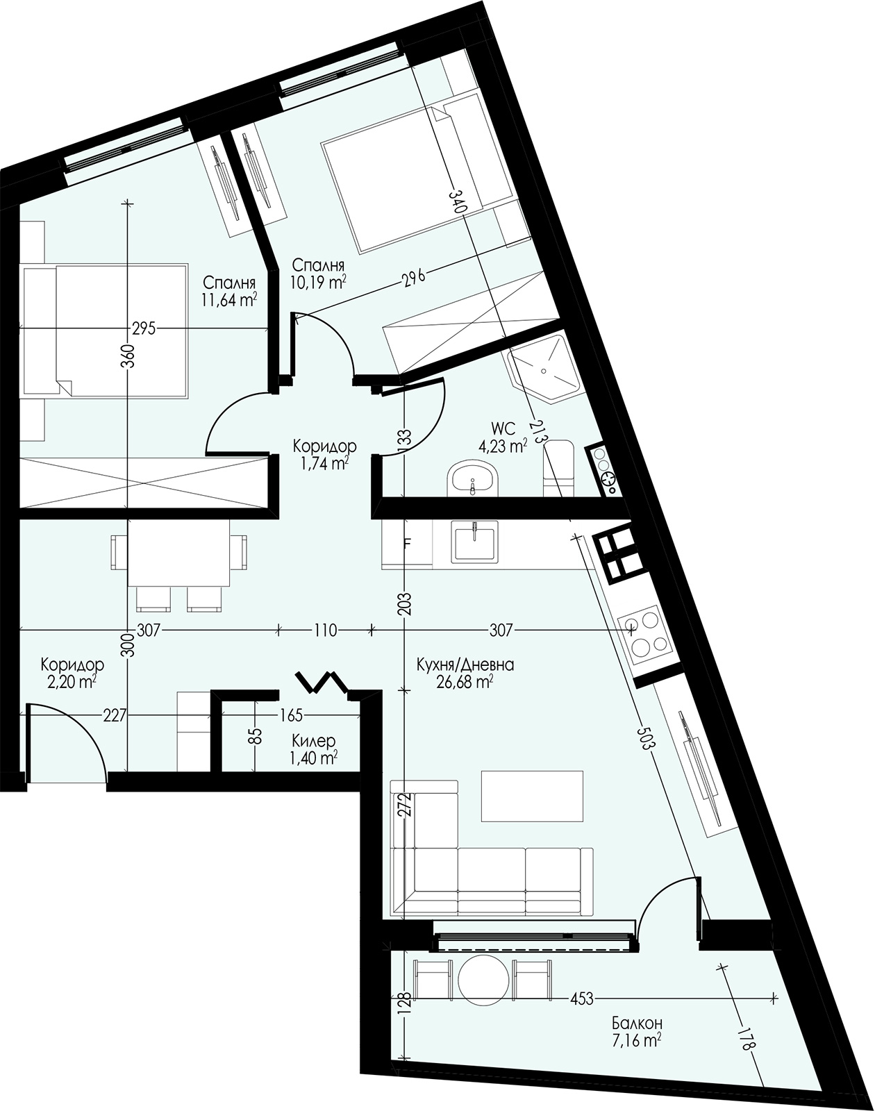 Апартамент 21