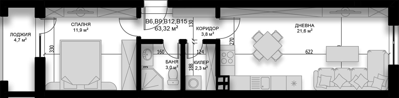 Апартамент 15